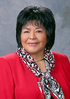 Former State Representative Sharon Clahchischilliage (R)