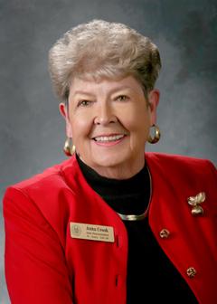 Former State Representative Anna M. Crook (R)